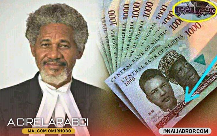 Bazamu Iya Cire Rubutun Larabcin Dake Jikin Kudin Nigeria _ Babban Bankin Nigeria CBN