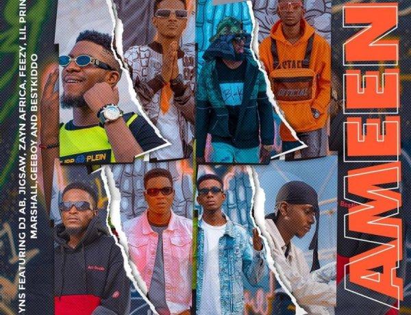 Music: YNS - Ameen (Cypher) Dj AB x Jigsaw x Zayn Africa x Feezy x Lil Prince x Marshall x Geeboy x Bestkiddo